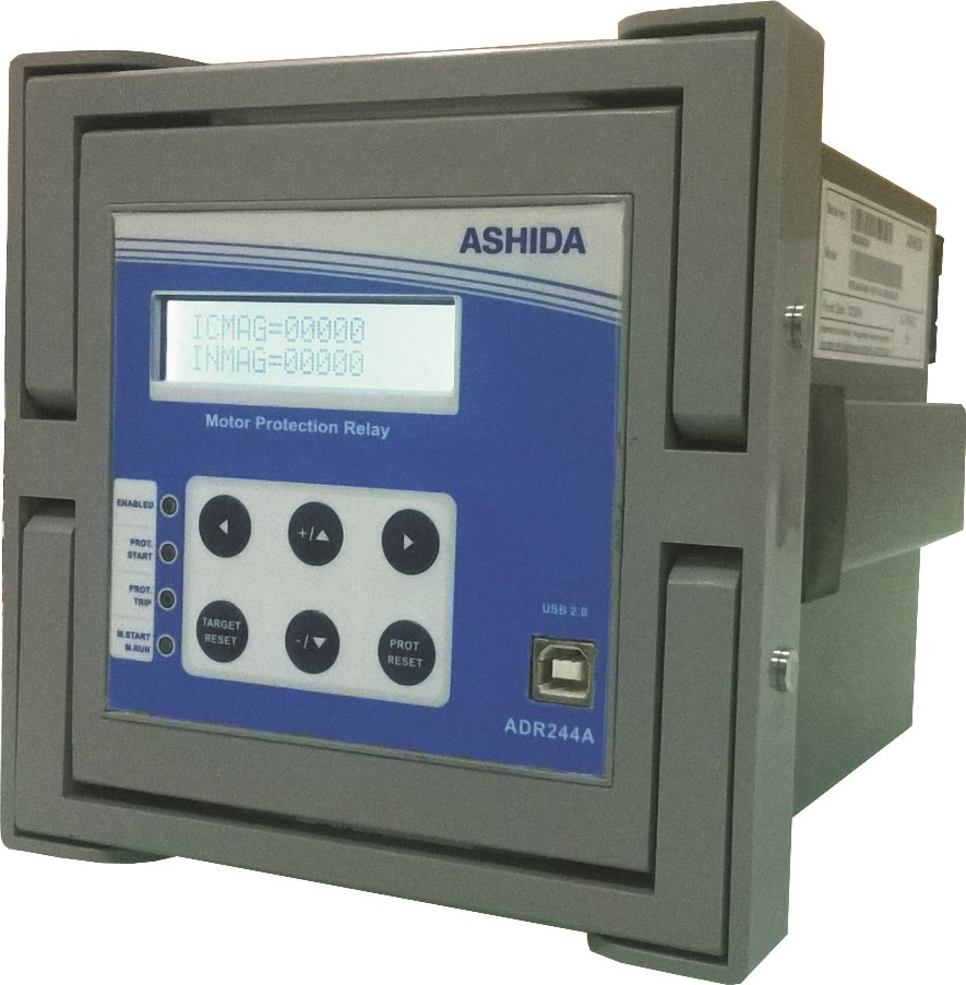 Motor Protection Relay Draw Out Type Ashida Electronics